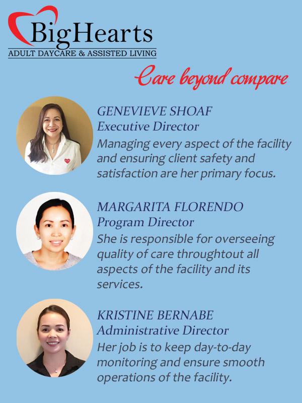 Big Hearts Executive Team